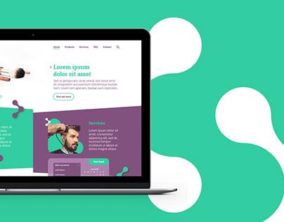 Cosmetics web portal