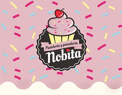 Desarrollo de marca Pastelería Nobita