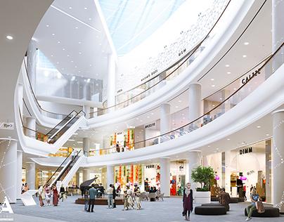 Visualization of Grozny Mall