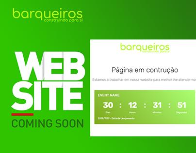 Barqueros Comin soon Web page