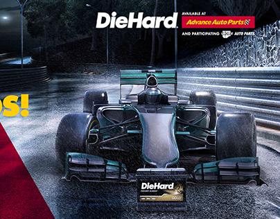Start Your Engines DieHard Ads