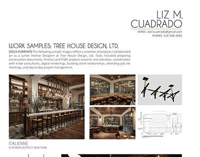 Liz Cuadrado - Tree House Design Work Samples