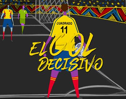 Animación Bancolombia Mundial 2018