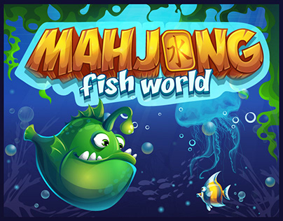 Mahjong fish world game kit