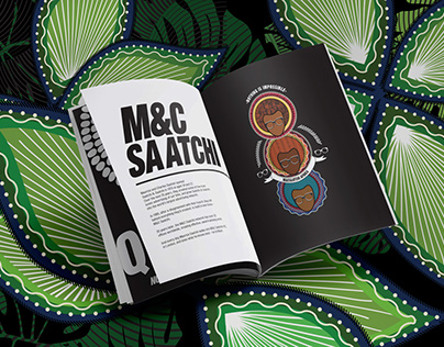 M&C Saatchi Africa brand book & website design