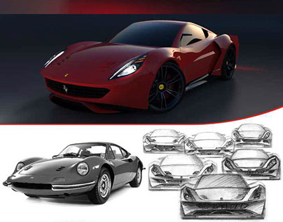 Ferrari Dino GT Concept (one of the 15th finalists Varo