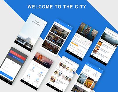 City Explore App Concept