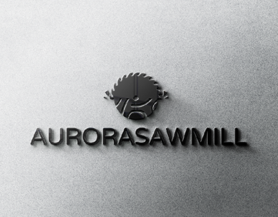 Aurora Sawmill - Minimalistic logo