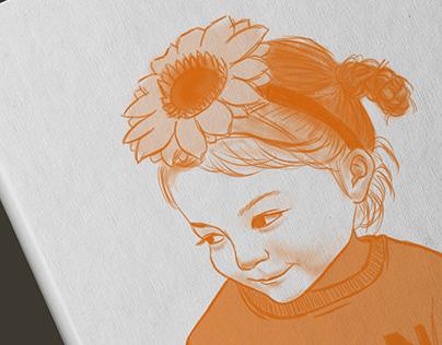 Portraits in Orange