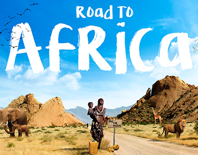 Road To Africa (Photo Manipulation)