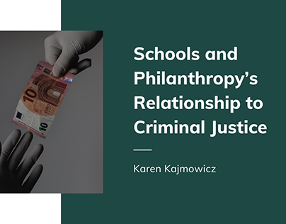 The Relationship To Criminal Justice