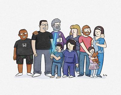 Family portrait 2020