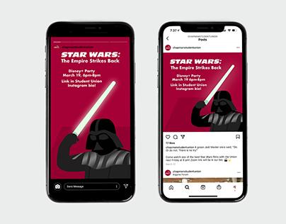Star Wars Watch Party