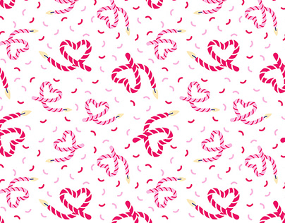 Heart Candles - Pattern