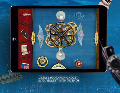 "Interactive book ""Gadgetarium"""