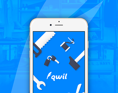 Qwil – Mobile UI/UX Design