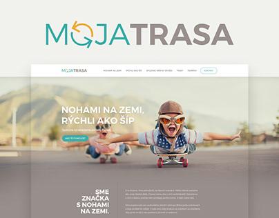 Moja trasa / logo / web design