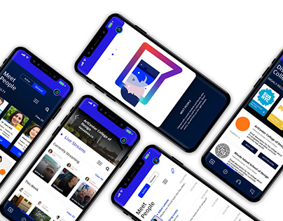 Vieuni: App concept and Design