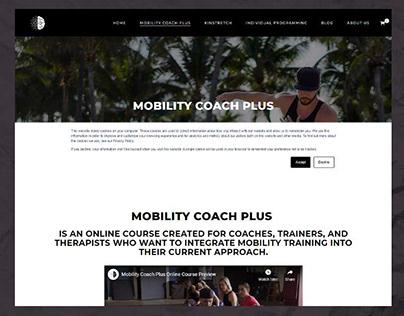 Gym Instructor   Website Design   WordPress
