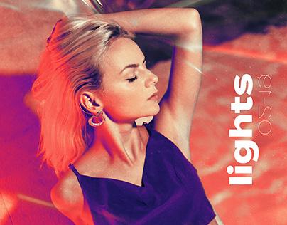 Lights-Flare experiment w/Vittoria.