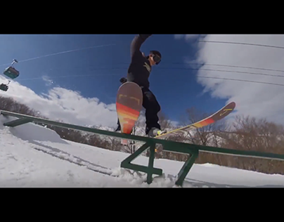 I edited his Skiing video