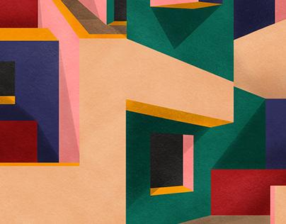 Through the maze No2 - Poster Zine