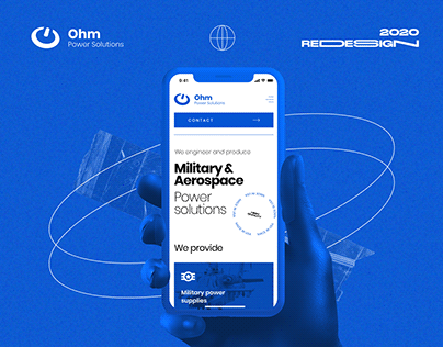 Ohm Power Solution — Redesign
