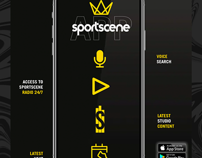 Sportscene Projects Photos Videos Logos Illustrations And Branding On Behance