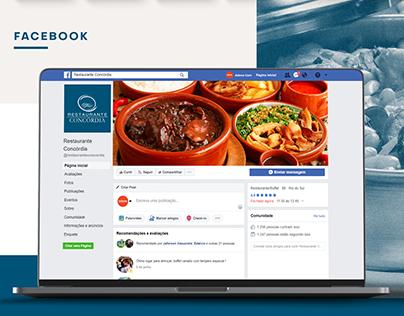 IDV Social Media - Restaurante Concórdia