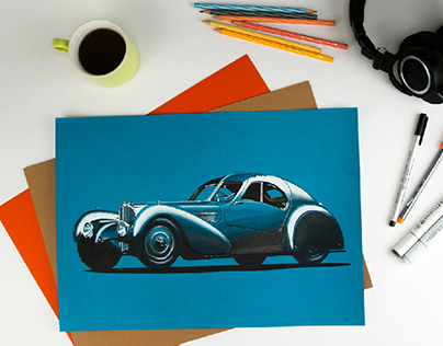 Bugatti, Aston Martin, Range Rover | Sketches & Renders