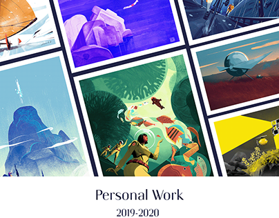 A selection of personal illustrations