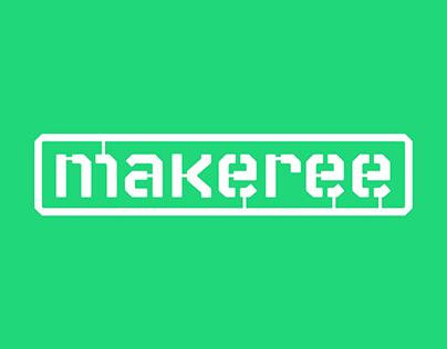 Branding for the app Makeree