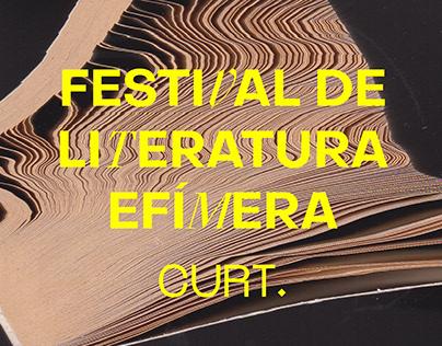 CURT. Festival de Literatura Efímera