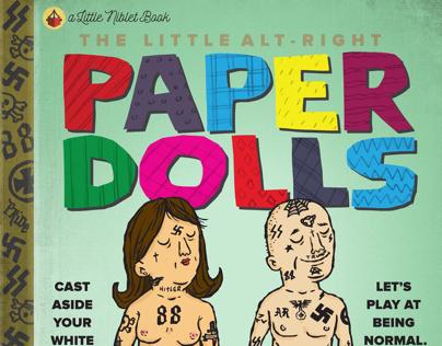 Alt-Right Paper Dolls Book.