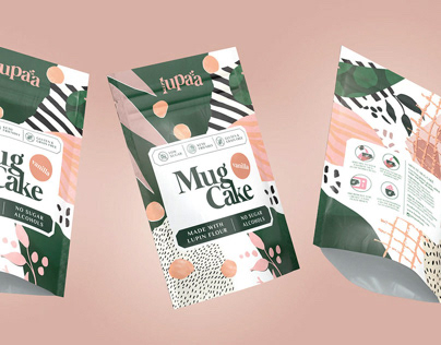 Lupaa Mug Cakes packaging (NY)