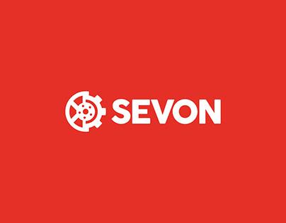 SEVON - Criação da Logo