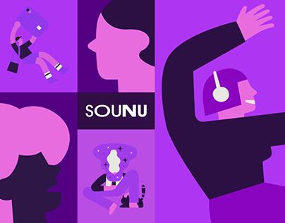 Nubank Brand Illustration