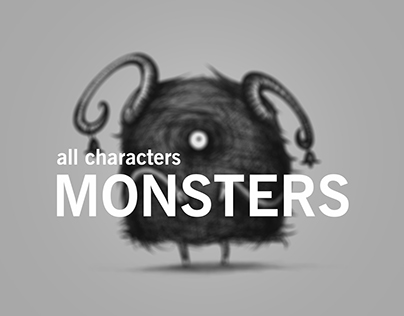 ILLUSTRATIONS FOR GAME MONSTERS GALLERY