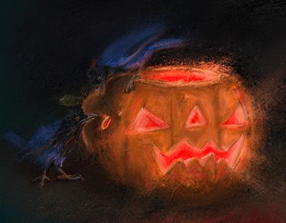 Halloween - Gralha Azul