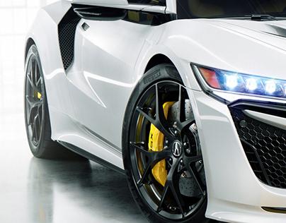 Acura NSX I Full CGI