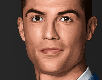 Cristiano Ronaldo Vexel Art
