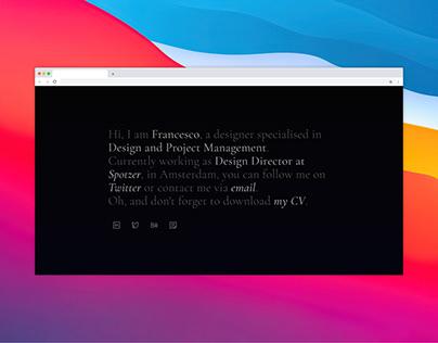 New Website 2021