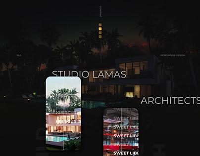 Studio Lamas Architects Website
