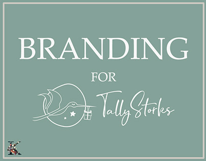 """Branding project for """"Tally Storks"""""""