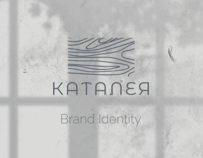 Каталея hotel brand identity