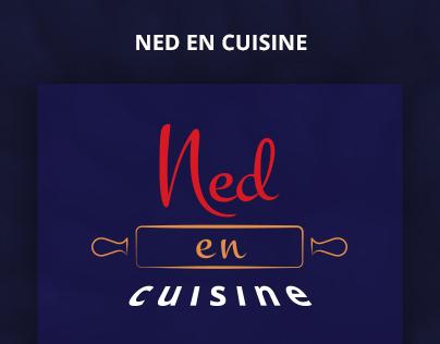 """Logo """"Ned en cuisine"""""""