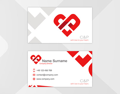 C&P Business Card