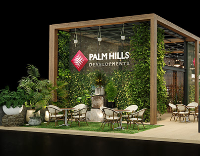 Palm Hills Cityscape Booth 2020