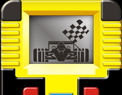 Game app  Car Racing 90s