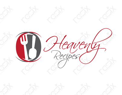 Heavily Recipes = Logo Design